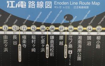 Enoshima Linie – Tokyo mit Kinderwagen
