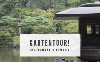 Nächste Gartentour! 9. November 2019