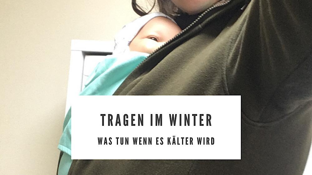 Tragen im Winter