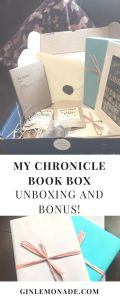 My Chronicle Book Box unboxing and bonus