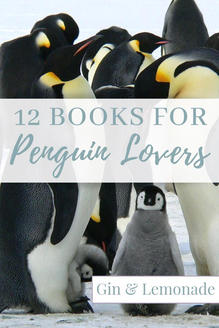 12 books for people who love penguins.