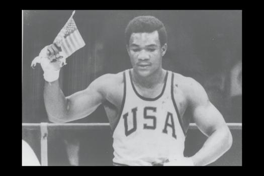 Mexico 1968 OG, Boxing, +81kg (heavyweight) Men - George FOREMAN (USA) 1st.