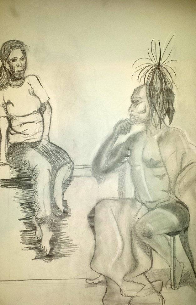 Figure Drawing Pair 2