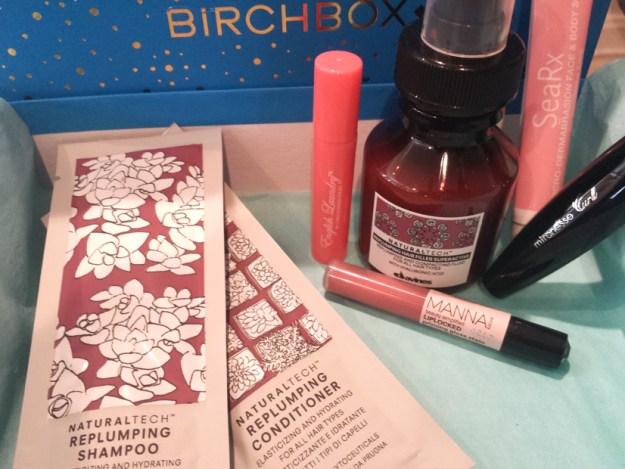 2014 December BIRCHBOX - Unboxing