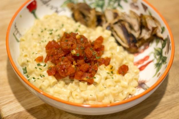 Smoked Gouda Pasta - Plated 1