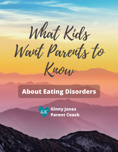 what kids want parents to know about eating disorders