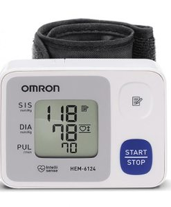 Omron - Monitor de Pressão Arterial Automático de Pulso Control (HEM-6124)
