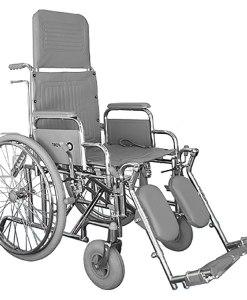 Cadeira de rodas reclinável Comfort