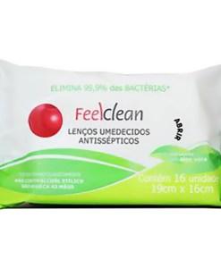 Os Lenços Umedecidos Antissépticos FeelClean é um produto desenvolvido especialmente para eliminar os germes das mãos de forma prática e eficiente. Diferentemente do álcool gel, que mata os germes mas não os remove das mãos caso elas não sejam lavadas em