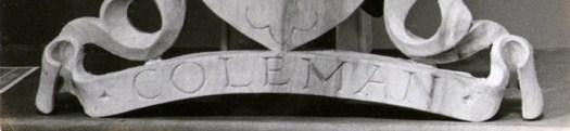 Gino Masero - Coleman Family Crest
