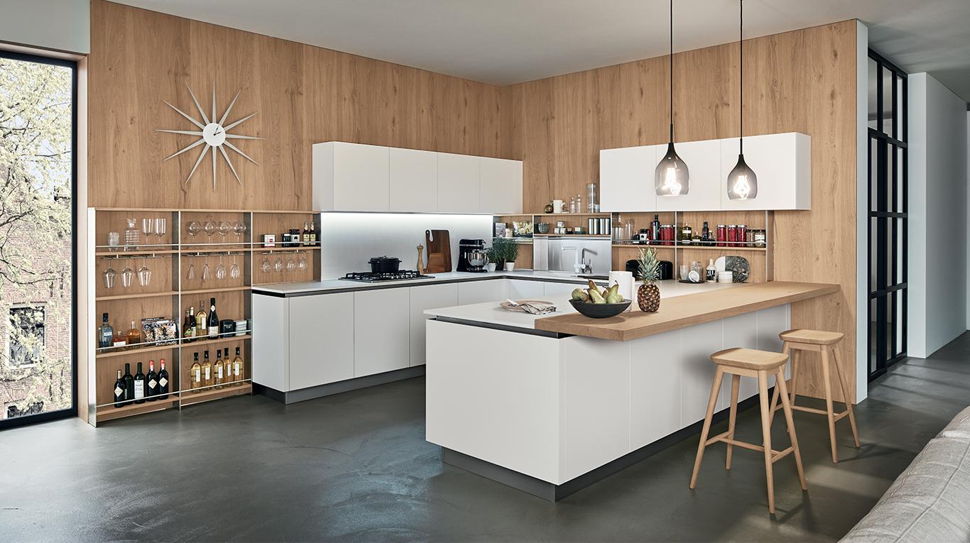 Oyster Pro  Cucine Moderne  Veneta Cucine  Ginocchi Arredamenti
