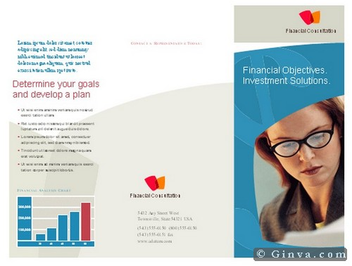 Informative Brochure Template Ideal Vistalist Co