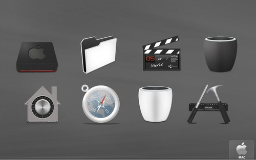 Mac Icons Download 40 Free Mac OS X Icon Sets  Ginva