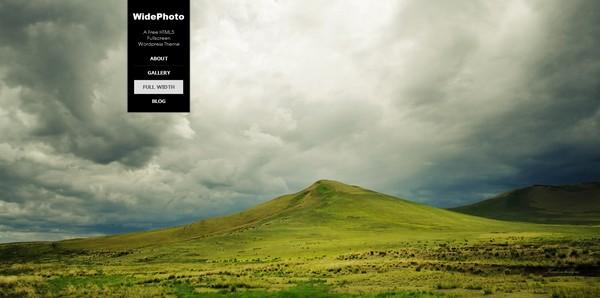 30 Free and Premium FullScreen Background Portfolio WordPress Themes  Ginva