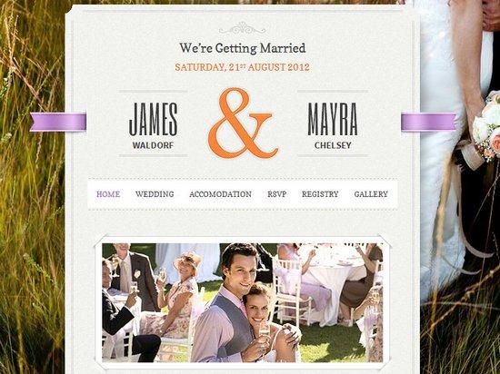 20 Best Wedding Website Templates CSSHTML  WordPress  Ginva