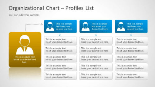 organization chart template powerpoint