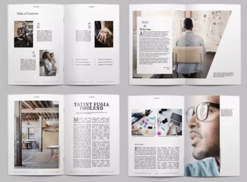 25+ Modern InDesign Magazine Templates [INDD & INT]