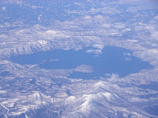秋田写真集 吹雪の十和田湖 銀座ママパワースポット 秘境巡り