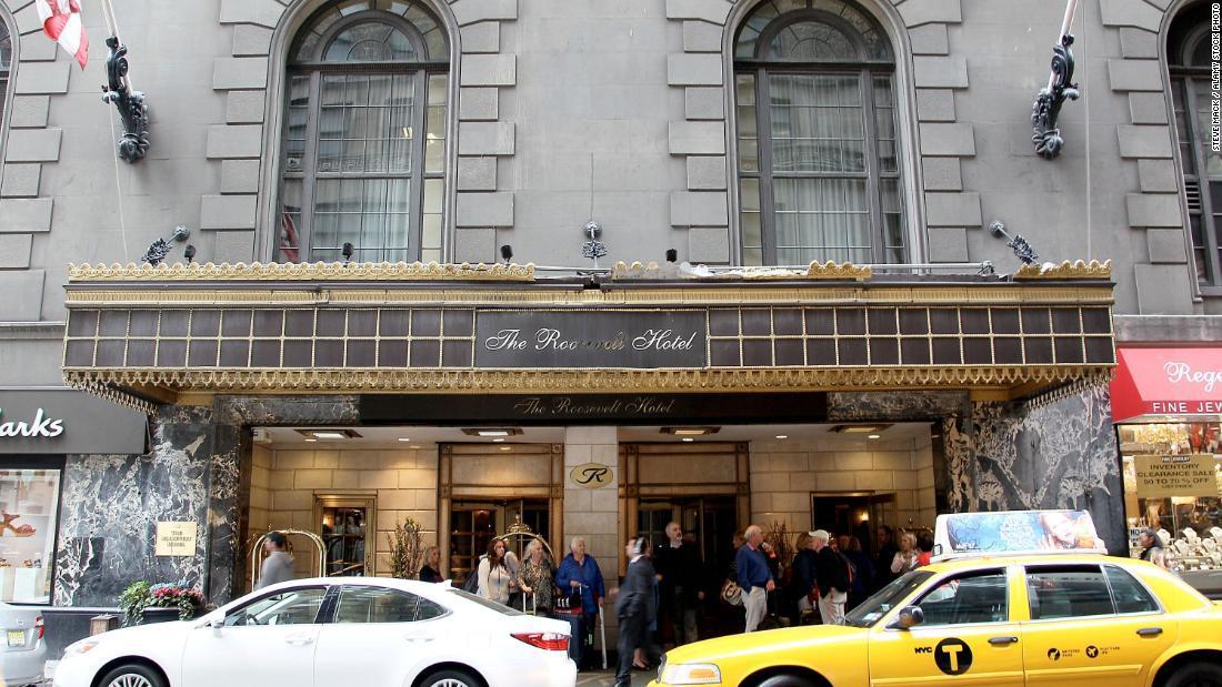 年内閉館へ数々の有名映画の舞台 NYのルーズベルトホテル、 新型コロナの影響 銀座ママニュース♡NYのルーズベルトホテル、年内閉館へ