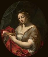 "Giovan Gioseffo dal Sole, ""Artemisia drinking the ashes of Mausolus"" (1700 ca.)"