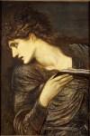 """Edward Burne-Jones, """"Head of Nimue"""" (1873)"""