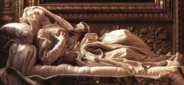 "Gian Lorenzo Bernini, ""Ludovica Albertoni"" (1671)"