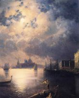 "Ivan Aivazovsky, ""Byron in Venice"" (date unknown)"
