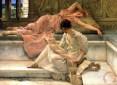 "Lawrence Alma-Tadema, ""Favourite Poet"" (1888)"