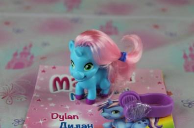 Dylan è l'unicorno dell'amicizia, la migliore amica è Misty.