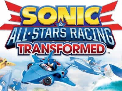 sonic all stars racing transformer