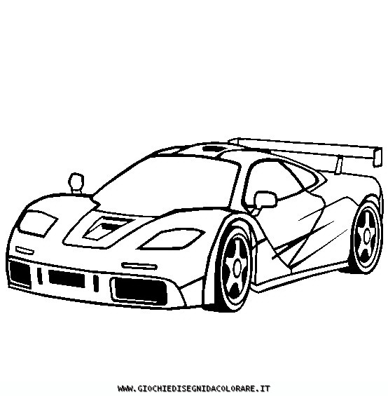 Mclaren P1 Coloring Pages Coloring Pages