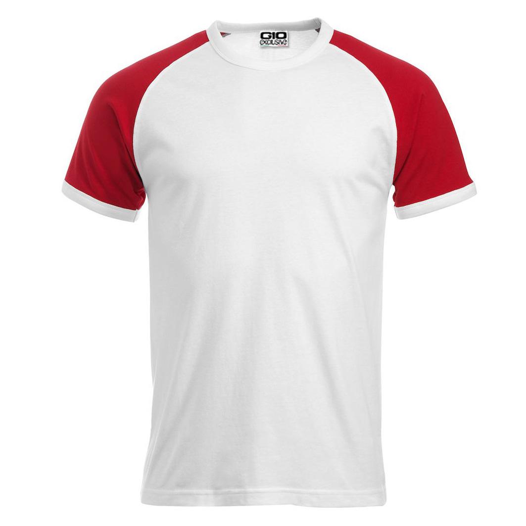 Tshirt Da Personalizzare Unisex Bicolore Gio Raglant