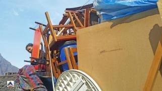 Evacuazione di Portela (Fogo, Capo Verde), novembre-dicembre 2014 - 1/14
