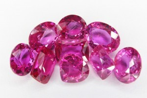 Custom made Gemstone Jewellery Pink Sapphire