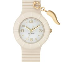 OROLOGIO HIP HOP HWU0696 PIERCING WHISPER WHITE HORN 32 MM