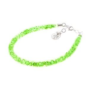 bracciale verde chiaro
