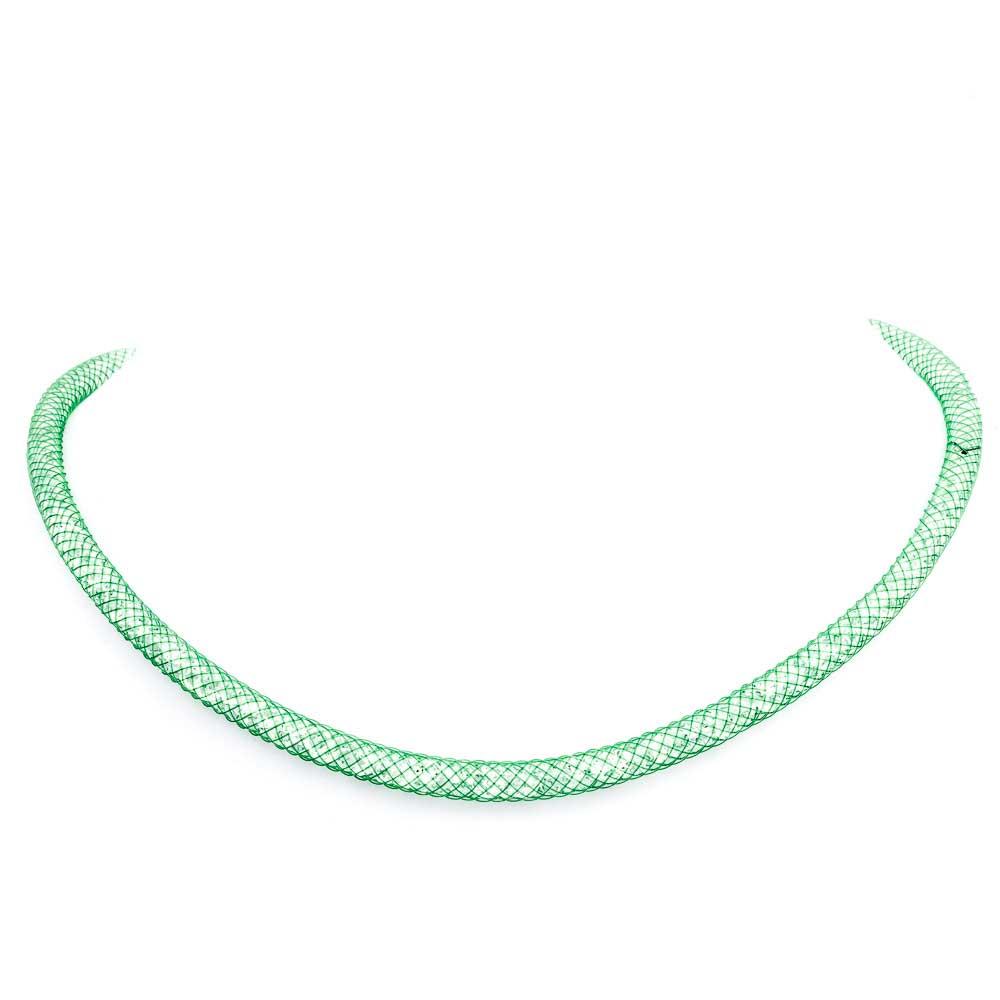 Collana particolare verde 4C