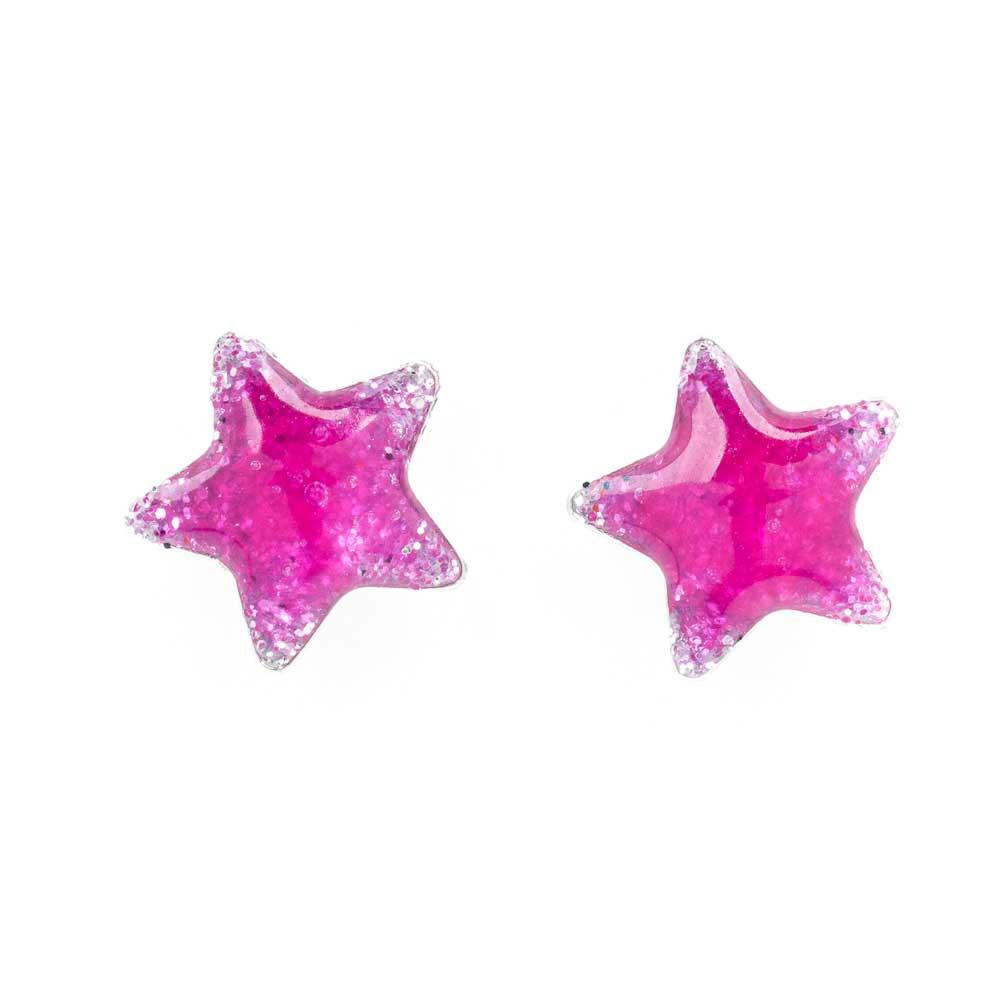 Orecchino-lobo argento-925 forma-stella
