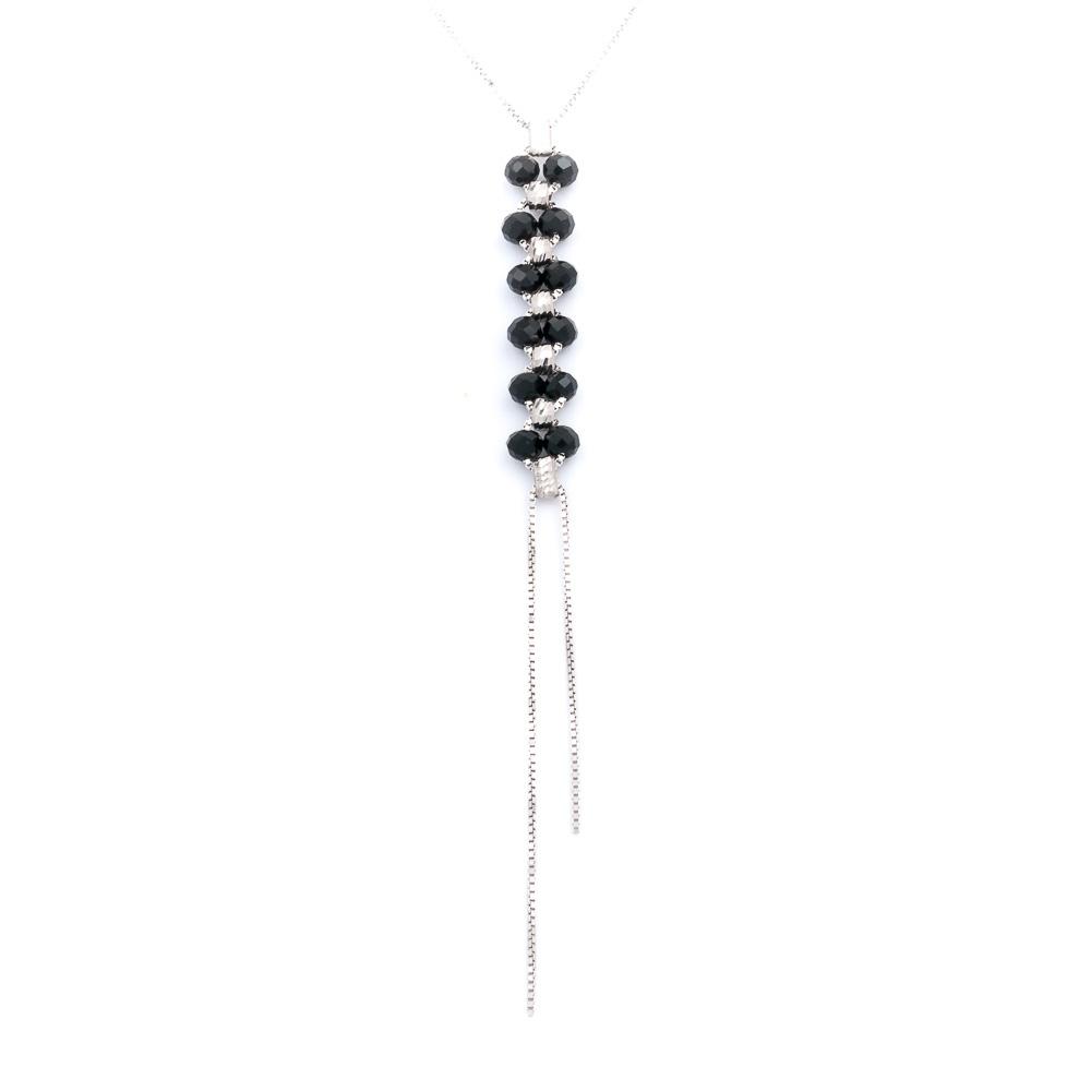 collana colorata nera collezione femme