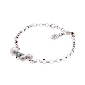Bracciale argento 925 sharm zircone luna