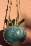 vasetto pensile turchese (5)