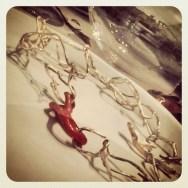 """""""Gusto mediterraneo   Mediterranean taste"""" #necklace Alessia Mocavero for #gioiellinfermento2013 #thesenseoftaste #gioiellomediterraneo"""