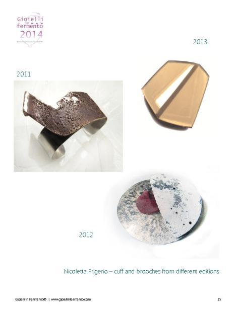 Gioielli in Fermento 2011-2012-2013