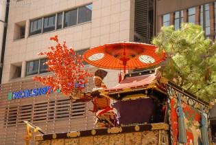 hosho yama hosho hirai statue gion festival procession kyoto japan