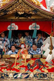 naginata boko naginata float chigo celestial child gion festival kyoto japan
