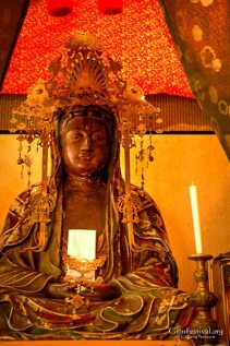 minami kannon yama sacred statue gion festival kyoto japan