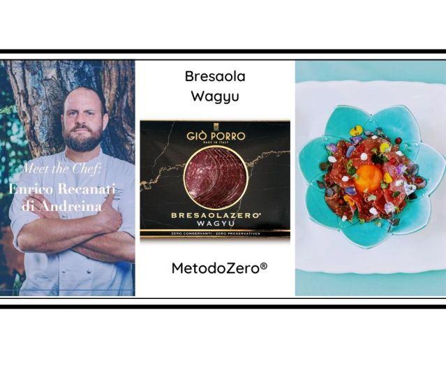 Ricetta chef Enrico Recanati: Bresaola Wagyu