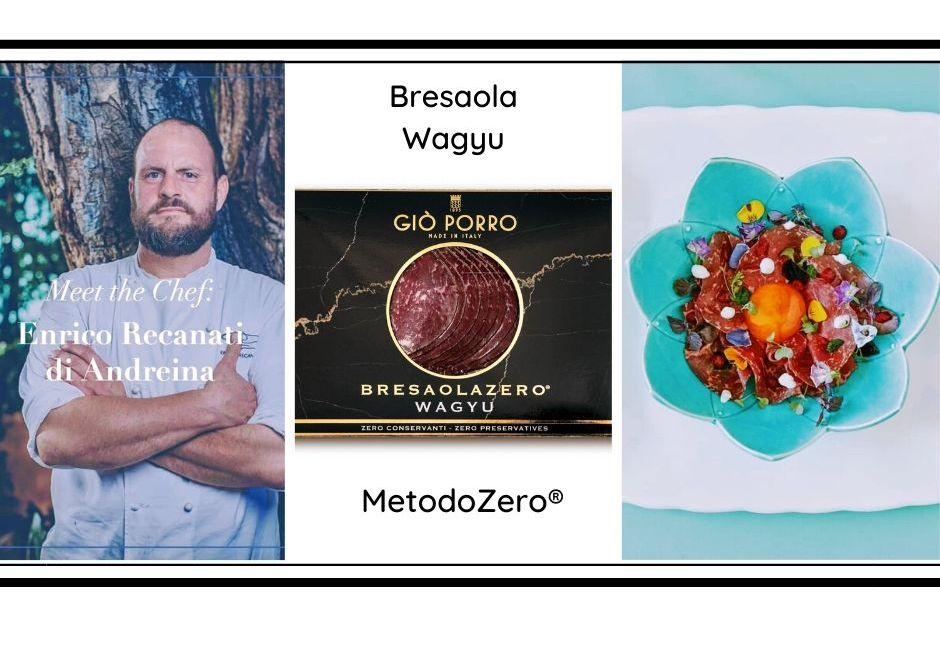 Ricetta bresaola Wagyu: Chef Enrico Recanati