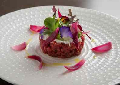 Ricetta bresaola: insalata verde con tartare Giò Porro