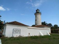 Le phare de la Commission du Danube (1856). Crédit photo: Claude A.